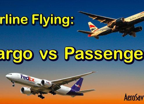 Airline Flying: Cargo vs