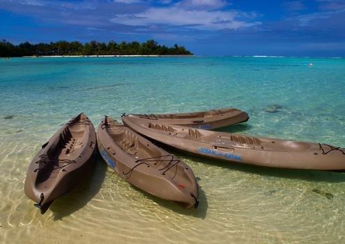 Muri beach Rarotonga Cook
