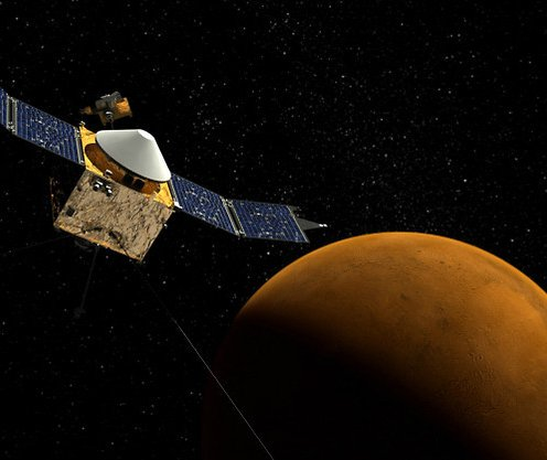 NASA s MAVEN mission is about
