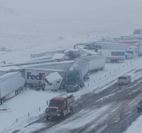 I-80 In Wyoming Opens After