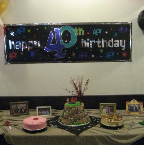 40th birthday party was a