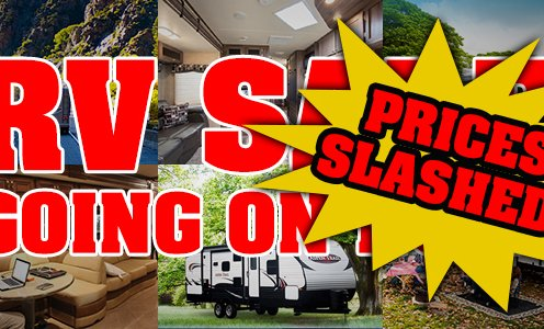 RV Sale! Prices Slashed