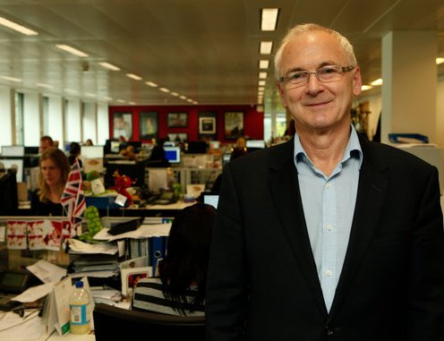 Paul Tracy, a vice president