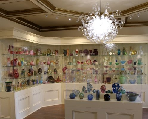The Art Glass Gallery at the