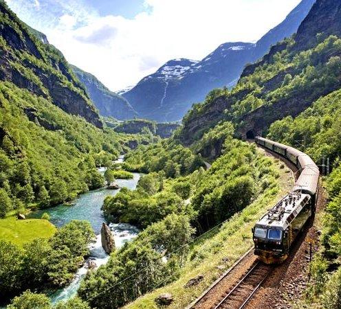 Photo: Flam Railway, Norway