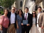 Alex's graduation from Creighton