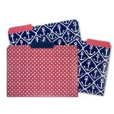 Capri Designs File Folders - Classic Anchor