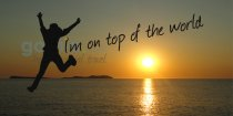 Im on the top of the world - summer songs