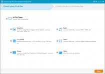 Launch EaseUS Data Recovery Wizard to recover files after deleting from recycle bin