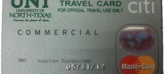 Travel - individually billed card