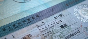 Travel visa to China