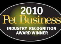 Pet Business 2009 Industry Recognition Award