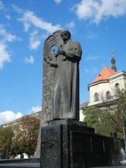 Photo of a gorgeous statue in Ukraine