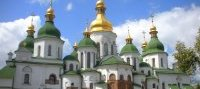 The very important landmark: Saint Sophia Church in Kiev, Ukraine