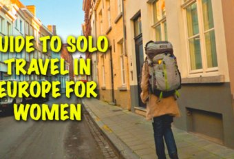 Travel alone in Europe