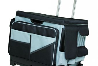 Travel file Organizer on wheels
