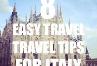 Travel tips Italy