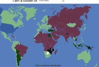 Travel visa requirements by country