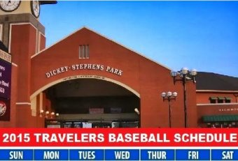 Travelers Baseball Schedule