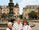 View a few passengers enjoying their tour of Koblenz Germany